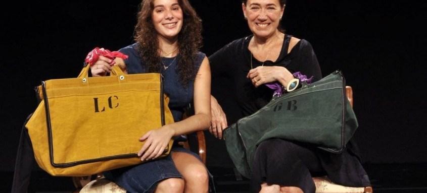 Lilia Cabral e sua filha, Giulia Bertolli, estão no espetáculo