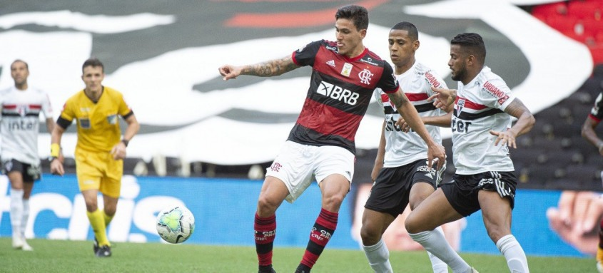Pedro não deve enfrentar o São Paulo, na próxima semana, pela Copa do Brasil