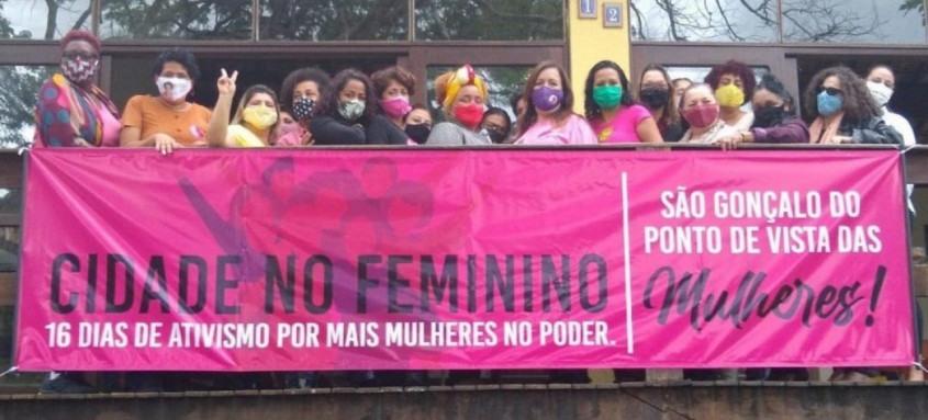 Movimento fortalece candidaturas femininas e cobra ações para suprir demandas das mulheres em São Gonçalo