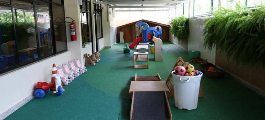 Espaço de recreação para crianças