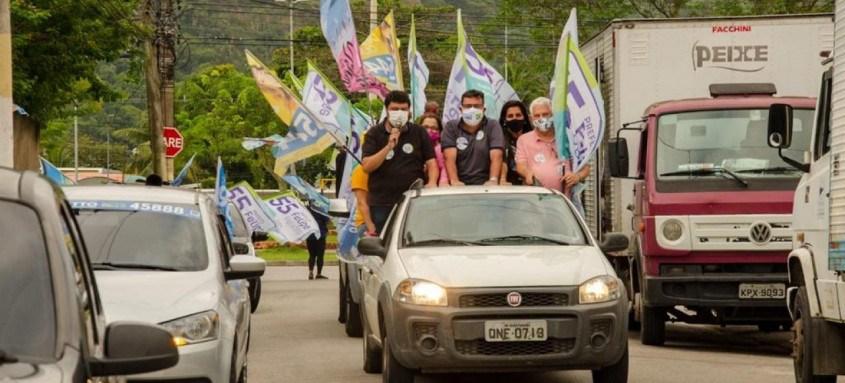 Campanha de Felipe Peixoto manteve a interação com os eleitores