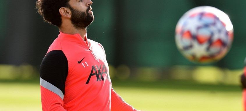 O egípcio Mohamed Salah, do Liverpool, testou positivo para c-19 na véspera do jogo de sua seleção nas Eliminatórias da Copa Africana de Nações