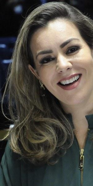 Cinthia Ribeiro.  Foto: Jane de Araújo/Agência Senado