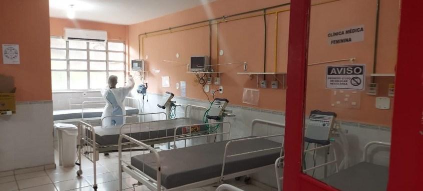 Cidade conta neste momento com 130 leitos para pacientes contaminados pelo Covid-19