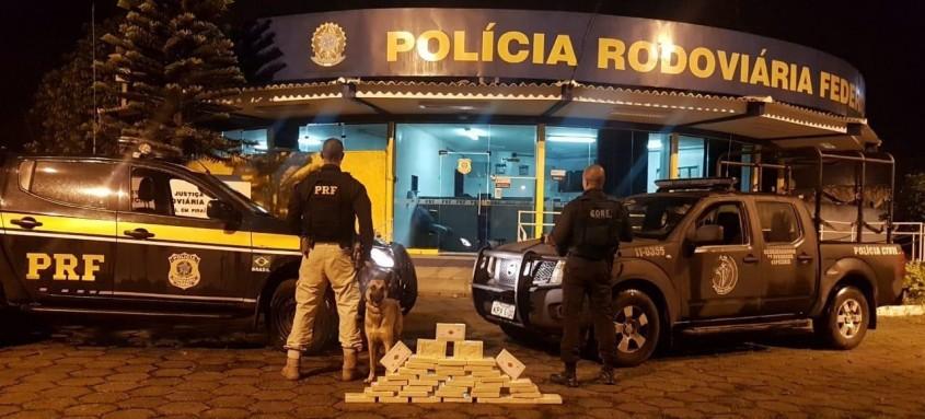 Motorista foi preso por tráfico interestadual de drogas