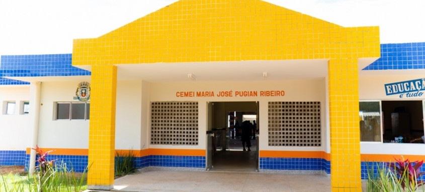 O espaço inaugurado conta com oito salas de aula
