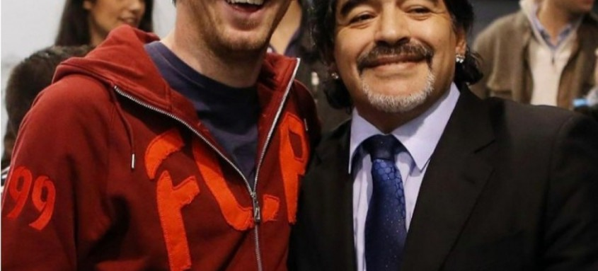 Lionel Messi disse que guardará todos os momentos ao lado de Diego Maradona