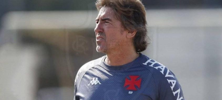 Treinador segue seu trabalho no Vasco e prepara a equipe para enfrentar o Santos na próxima rodada