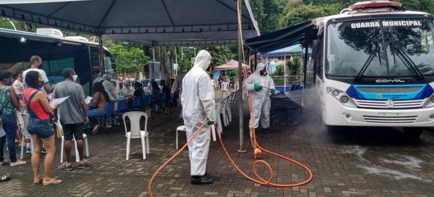 Com aumento dos casos de covid-19 em SG, medidas estão sendo tomadas para evitar o contágio acelerado do vírus