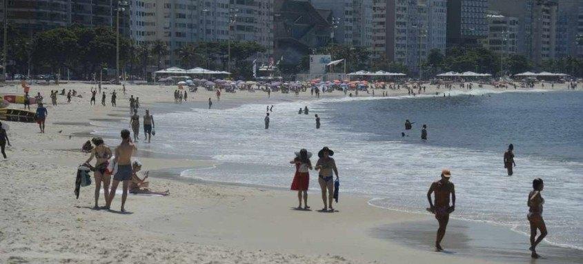 As praias ainda poderão ser acessadas pelos banhistas