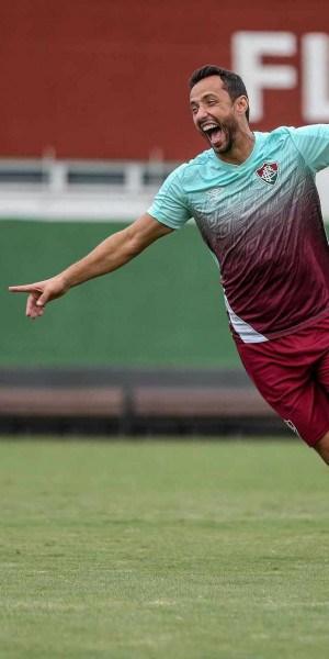 Confirmado entre os titulares, Nenê voltou a apresentar o bom futebol com a camisa tricolor no início do Brasileirão