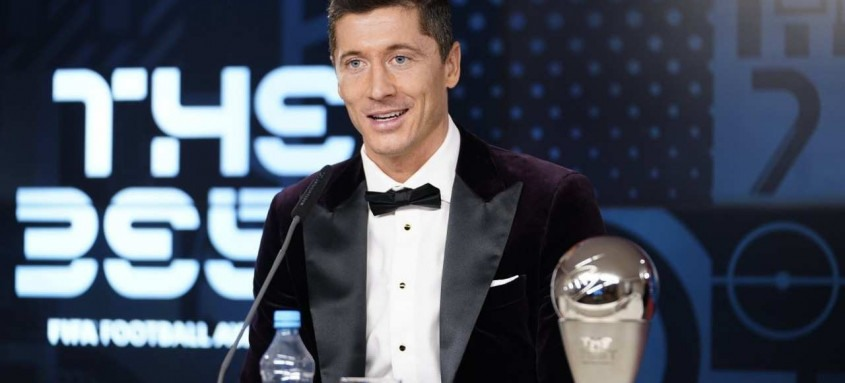 O prêmio 'The Best' coroou a excelente temporada de Robert Lewandowski com a camisa do Bayern de Munique