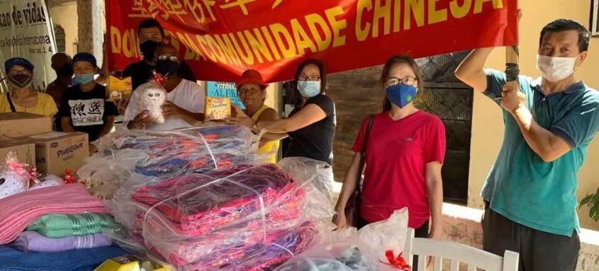 Doação da China