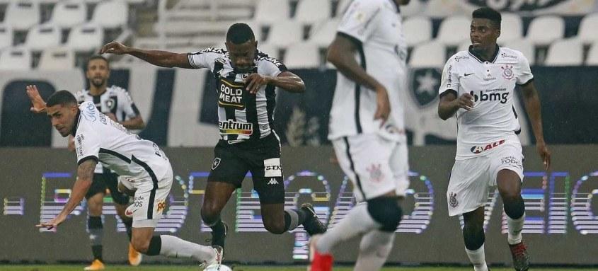 O Botafogo, do marfinense Kalou, tropeçou mais uma vez no Campeonato Brasileiro
