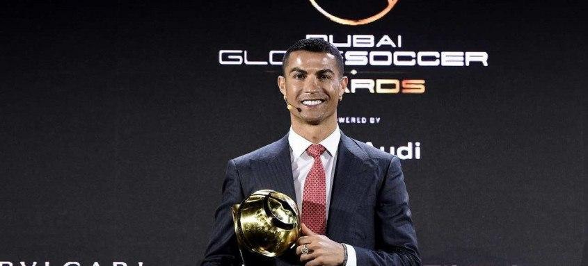 Dono do prêmio de melhor jogador do ano nas seis edições anteriores, em 2020, CR7 faturou também a categoria de