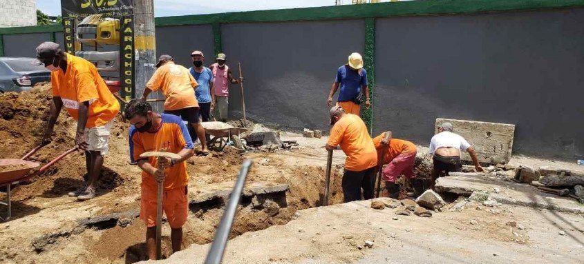 Intervenções de limpeza e conservação seguem por São Gonçalo