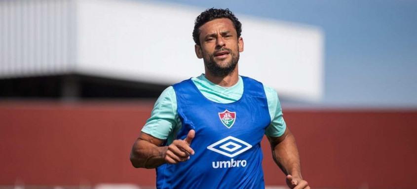Fred já iniciou tratamento no centro de treinamento do Fluminense