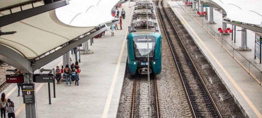 Caso aconteceu nas proximidades da estação Del Castilho, na zona norte do Rio de Janeiro