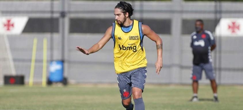 Após se despedir do Vasco no final do ano passado, Benítez voltou a treinar nesta quarta-feira no CT do clube