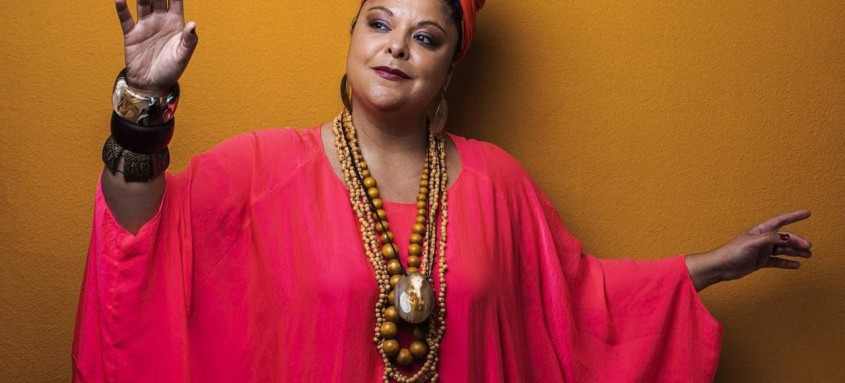 Fabiana Cozza está na homenagem