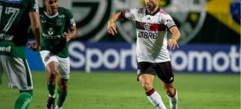 O meia Diego foi um dos principais destaques do rubro-negro na partida