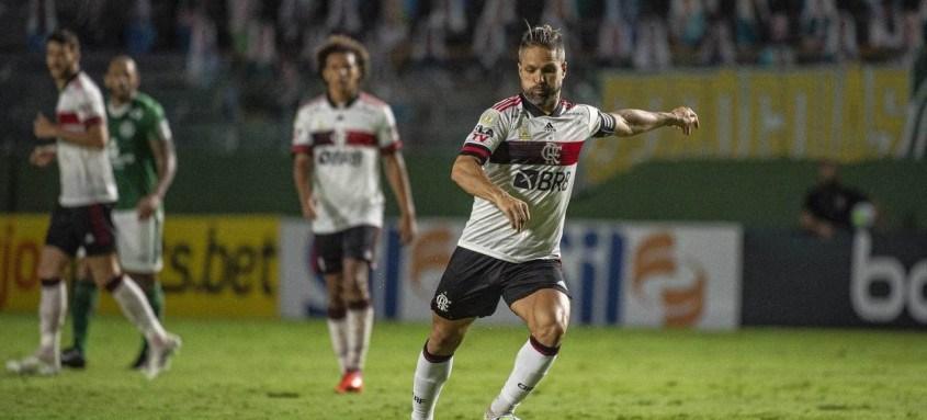 Diego foi titular e teve atuação destacada na última segunda-feira contra o Goiás