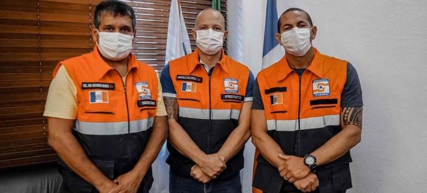 O prefeito Marcelo Delaroli escolheu o Coronel Ricardo dos Santos Nunes como novo responsável pela pasta