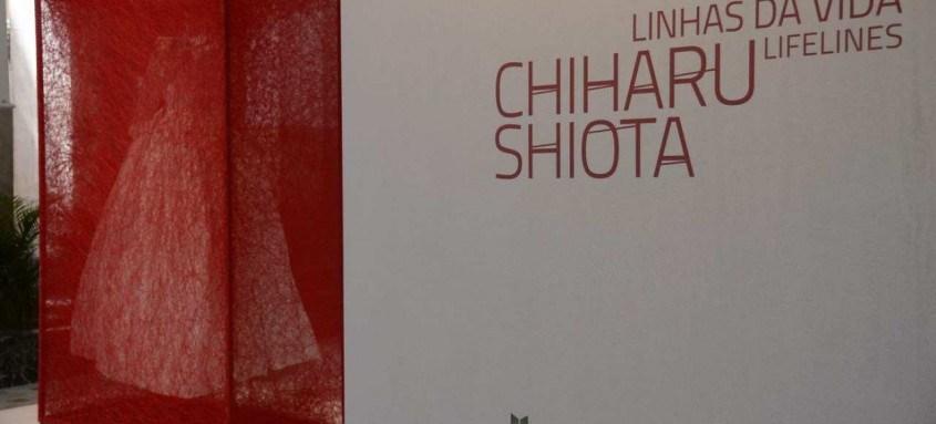 Exposição da artista japonesa Chiharu Shiota no CCBB-RJ