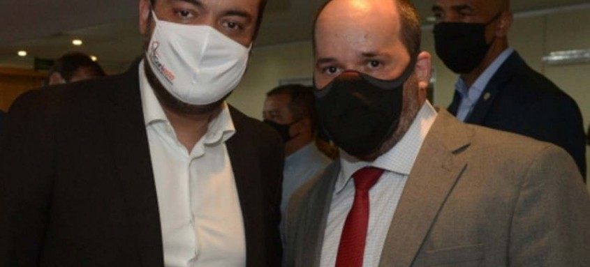 Cláudio Castro e Ralph