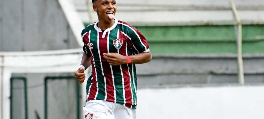 Além do Manchester City, o Shakhtar Donetsk, da Ucrânia, também deseja tirar o jovem Kayky, de 17 anos, do Fluminense