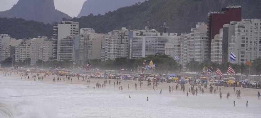 As 33 regiões administrativas da cidade do Rio seguem com risco alto para covid-19, segundo o quinto boletim epidemiológico da Prefeitura