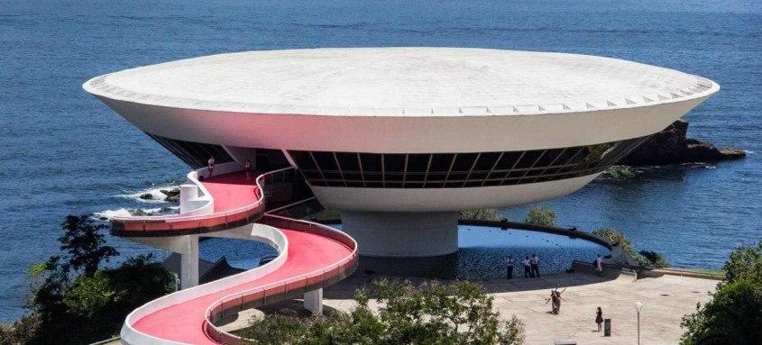 Museu de Arte Contemporânea: uma das referências do turismo em Niterói