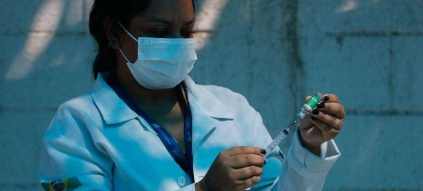 Embora com vacinação, resultado é o segundo maior de toda a pandemia