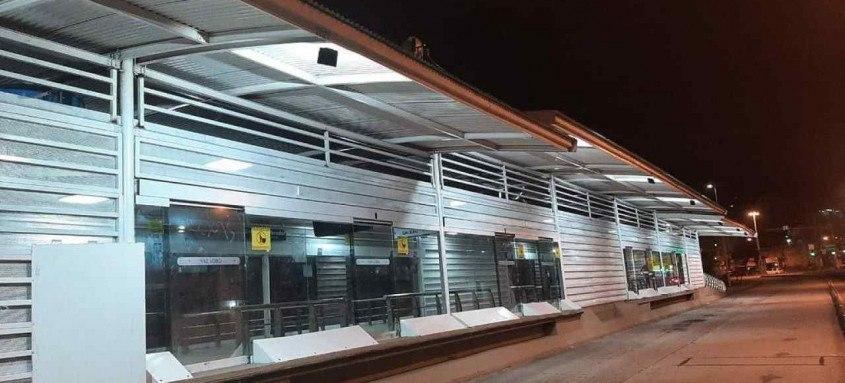 Por conta do ocorrido, módulo expresso da estação foi fechado