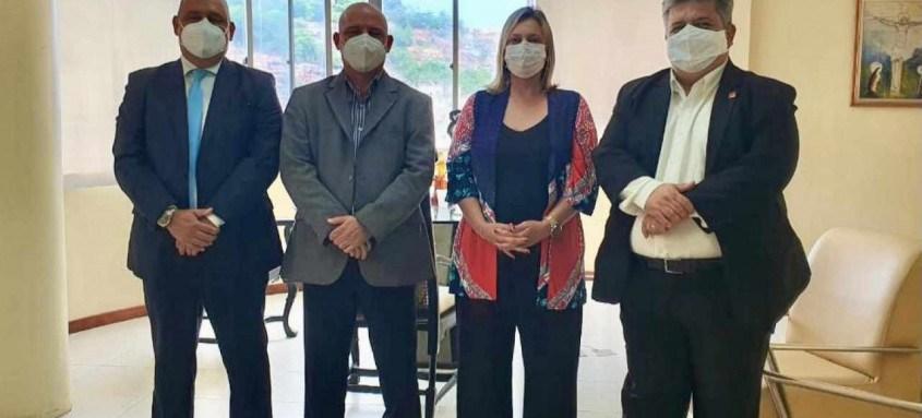 Presidentes da OAB Rio Bonito e OAB Nova Iguaçu visitam a Subseção Niterói