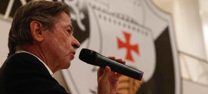 Jorge Salgado assumiu a presidência do Vasco no último dia 22 de janeiro