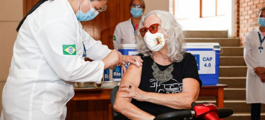 Mais de 240 mil pessoas foram imunizadas