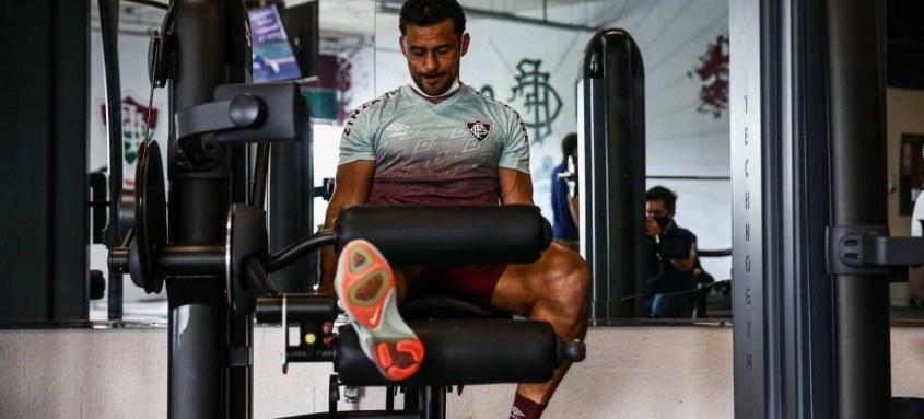 Fred está bem fisicamente para o jogo contra o Santos na Vila Belmiro, no próximo fim de semana