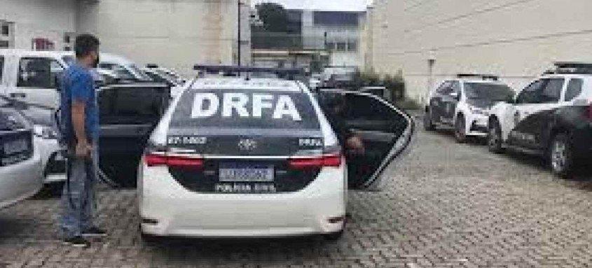 Suspeito foi capturado após monitoramento do setor de inteligência da DRFA
