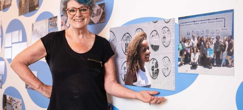 Artista belga Françoise Schein expõe na reabertura do Paço Imperial