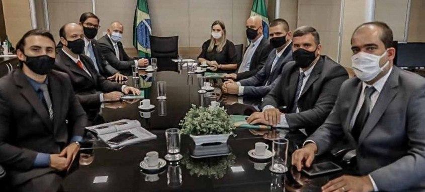 Delaroli faz peregrinação em Brasília e volta com a promessa de R$ 20 milhões em emendas parlamentares
