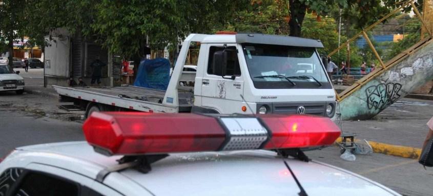 Secretaria de Transportes inicia ação de remoção de veículos abandonados