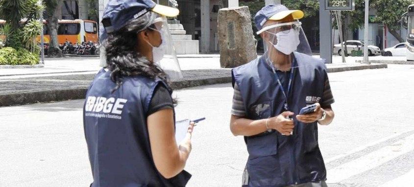 Para São Gonçalo são oferecidas 1.098 vagas. Cadastros para agente censitário terminam na segunda-feira (15) e para agente supervisor na sexta-feira (19)