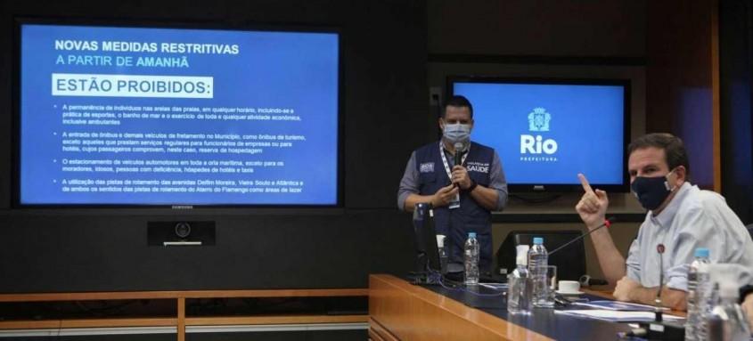 A cidade do Rio de Janeiro segue na luta contra o novo coronavírus