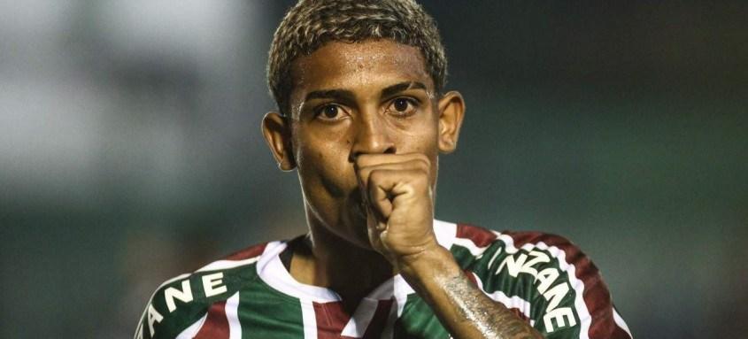 O jovem atacante John Kennedy fez o segundo gol tricolor contra o Boavista