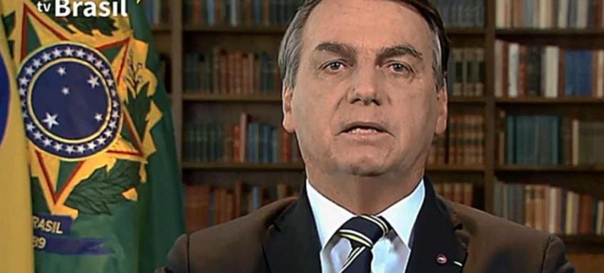 Durante pronunciamento, presidente Jair Bolsonaro afirmou que país será 'será autossuficiente na produção de vacinas contra a covid-19'