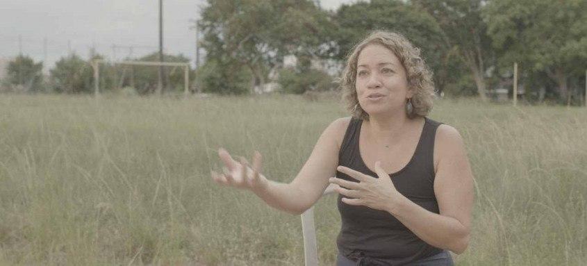 Luciana Wollmann,  foi a pesquisadora entrevistada no filme