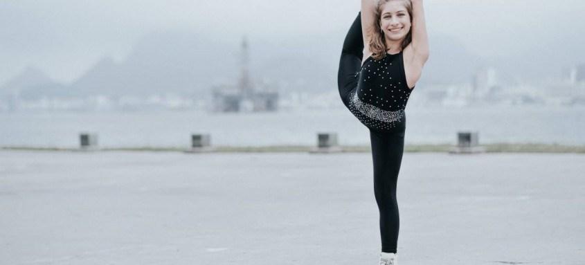 Aos 16 anos, Luiza D'Angelo é um dos novos talentos do esporte em Niterói