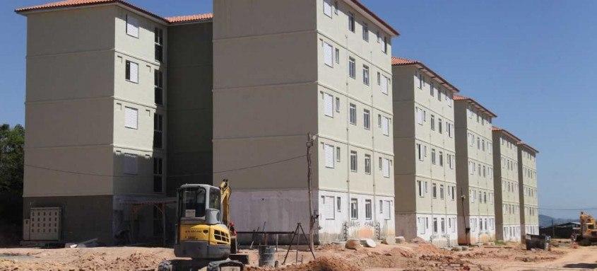 Empreendimentos Campo Belo 1 e 2, que estão em fase final em Marambaia, irão beneficiar 500 famílias com todos os equipamentos necessários para moradia