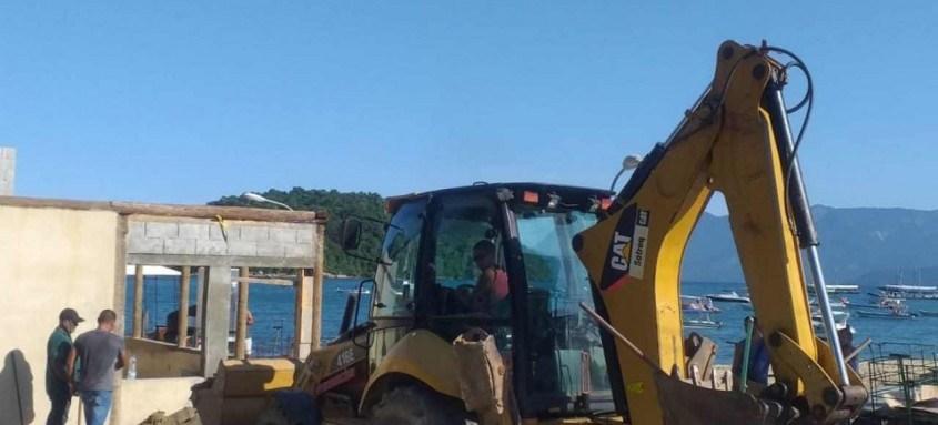 Operação Entulho Zero chegou sexta-feira a mais uma região da cidade